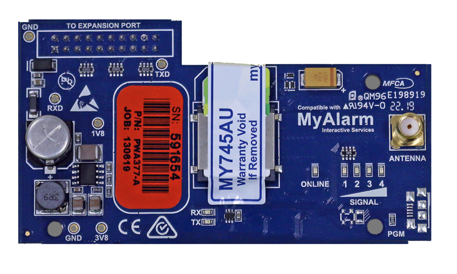 Bosch Solution 6000 4G GPRS Module for use with MyAlarm iFob Control App & Back to Base Monitoring