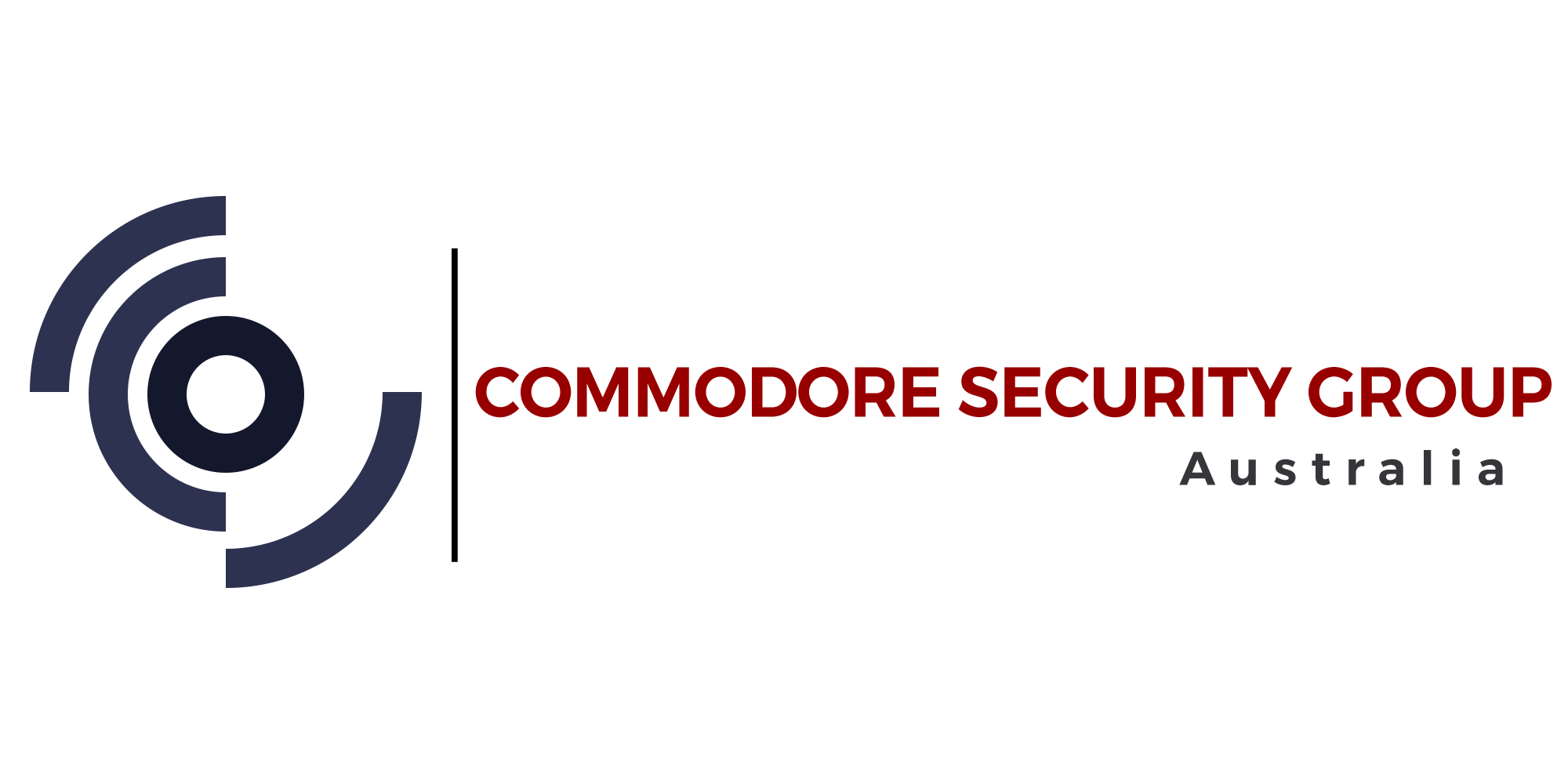 Commodore Security Group logo with no background