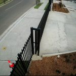 CCTV Image of a driveway during the day